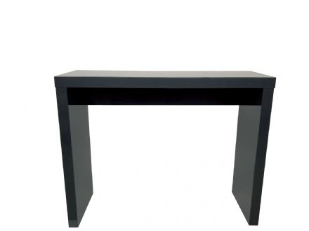 Puro Consul Table - Charcoal